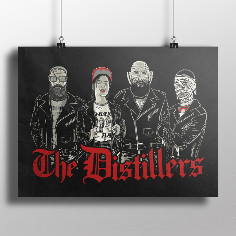 The Distillers: Halloween Special - Poster